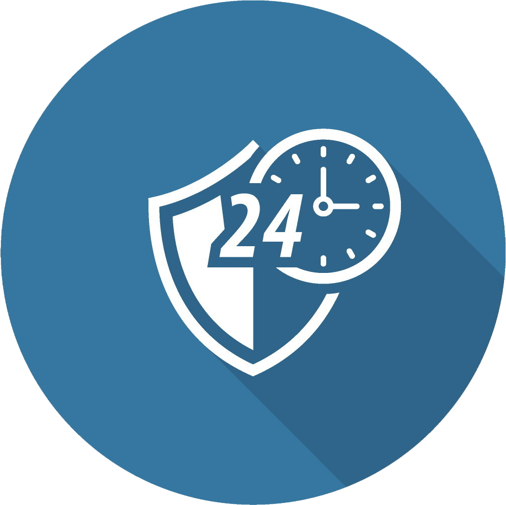 24-hour security